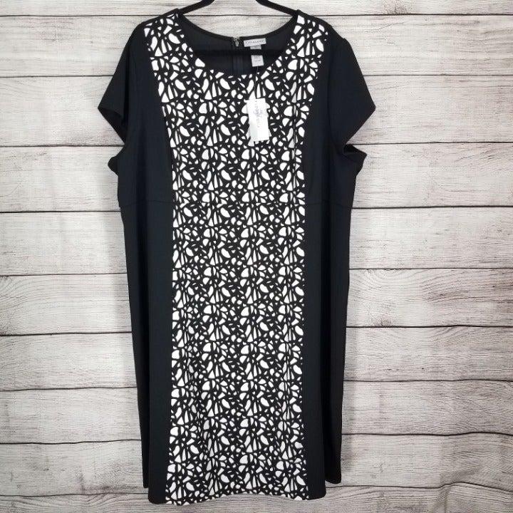 NEW Catherines 3X 26-28W Sheath Dress