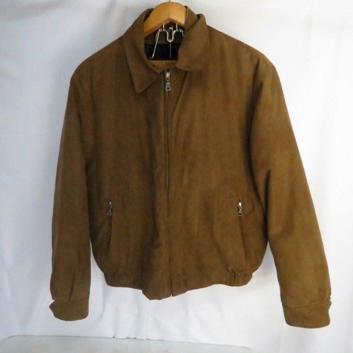 Jos A Bank Men's M  Brushed Poly Coat