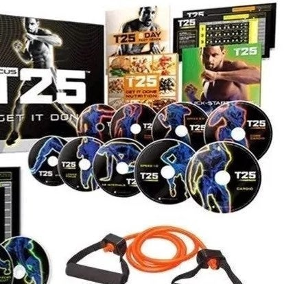 T25 Workout Fitness Dvd Collection
