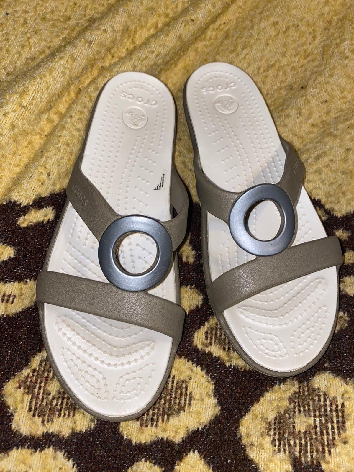 womens Crocs size 10