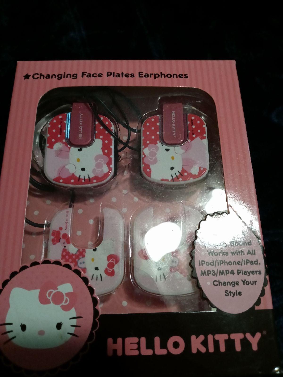 Hello Kitty PINK headphones