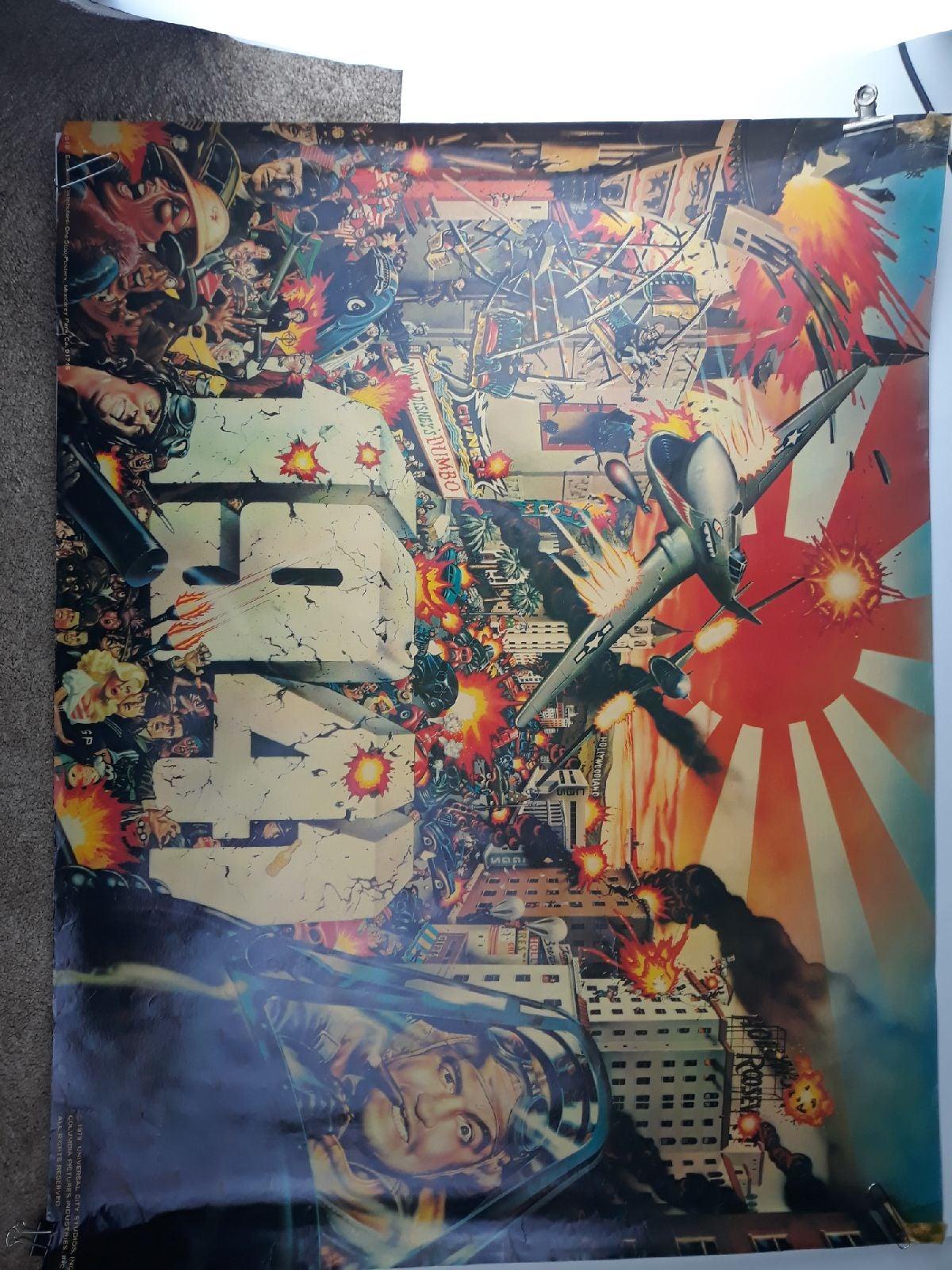 John Belushi 1979 Vintage Poster 1941 Mo