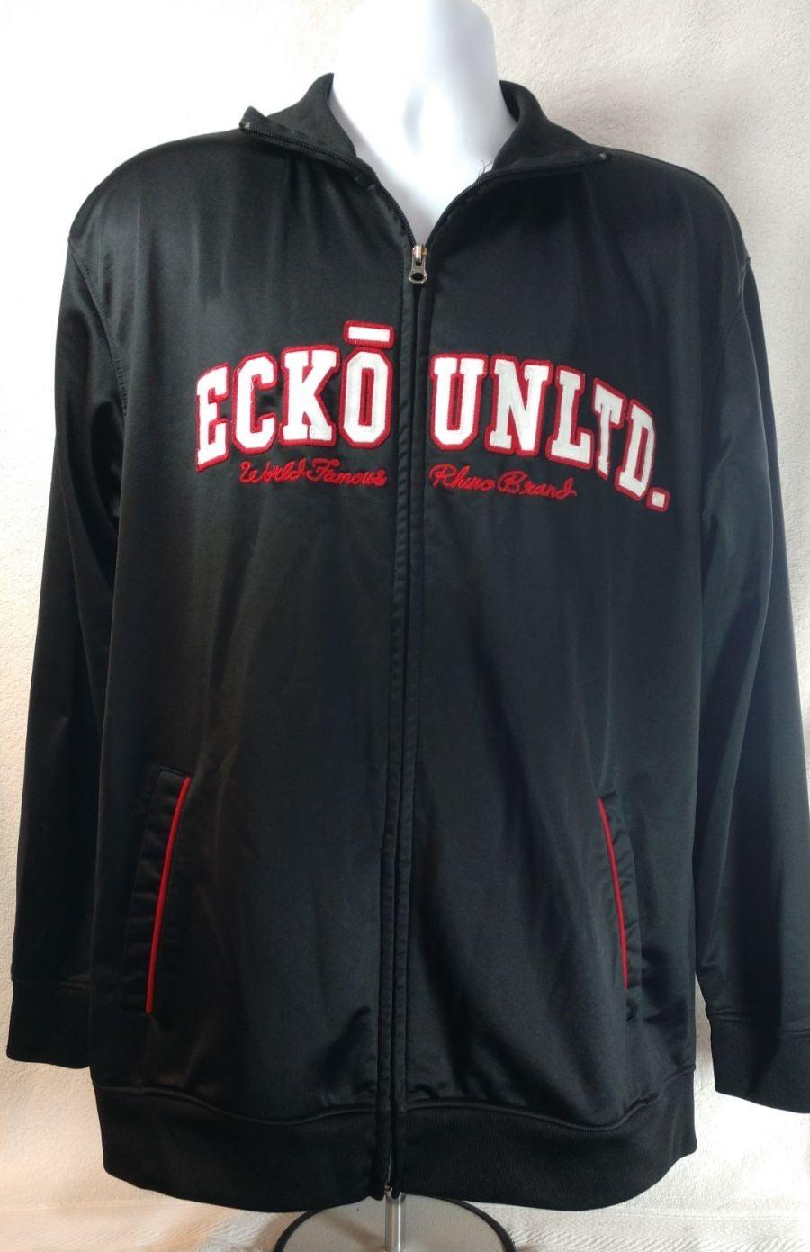 ECKO UNLTD Logo Black Athletic Jacket