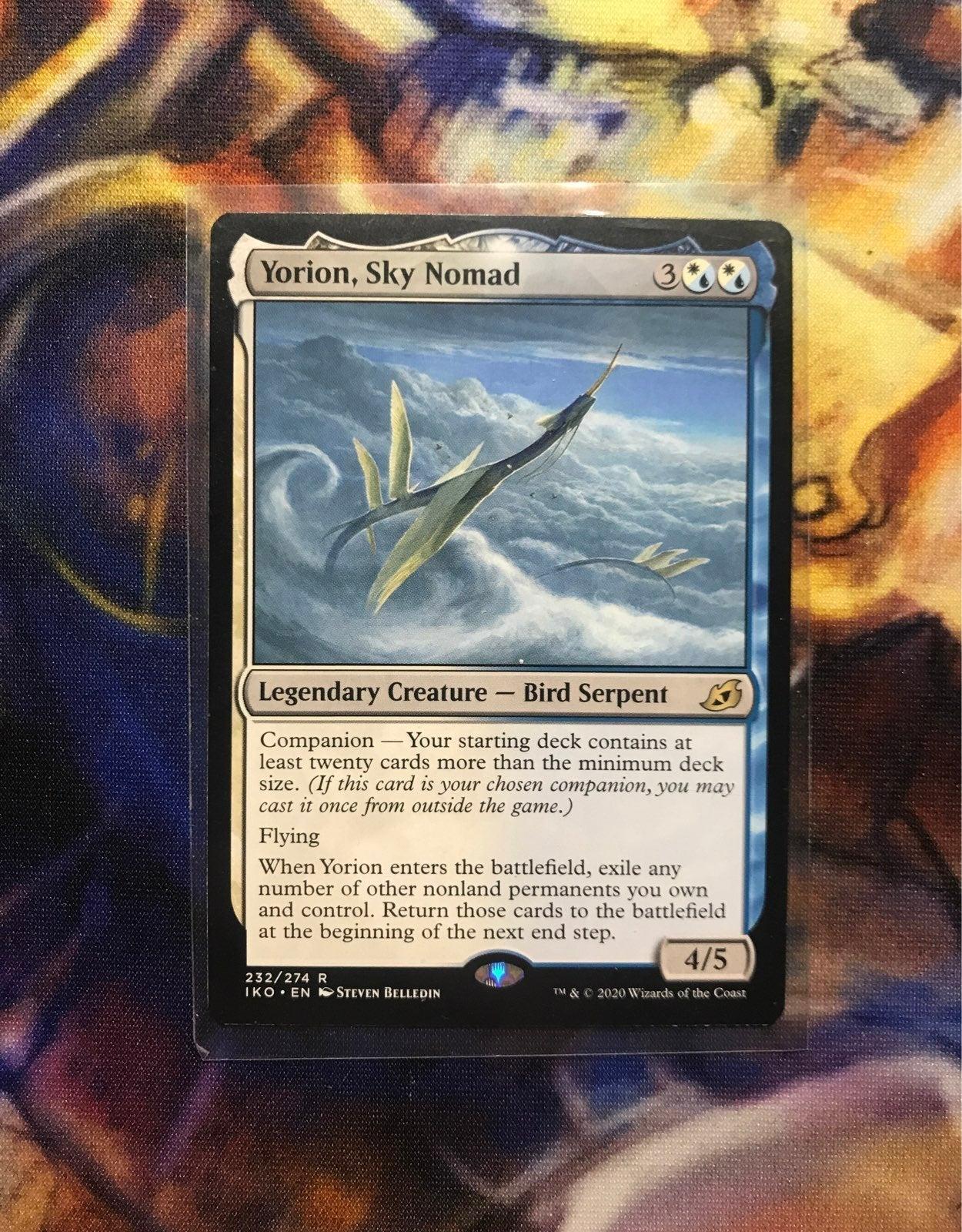 MTG Yorion, Sky Nomad card