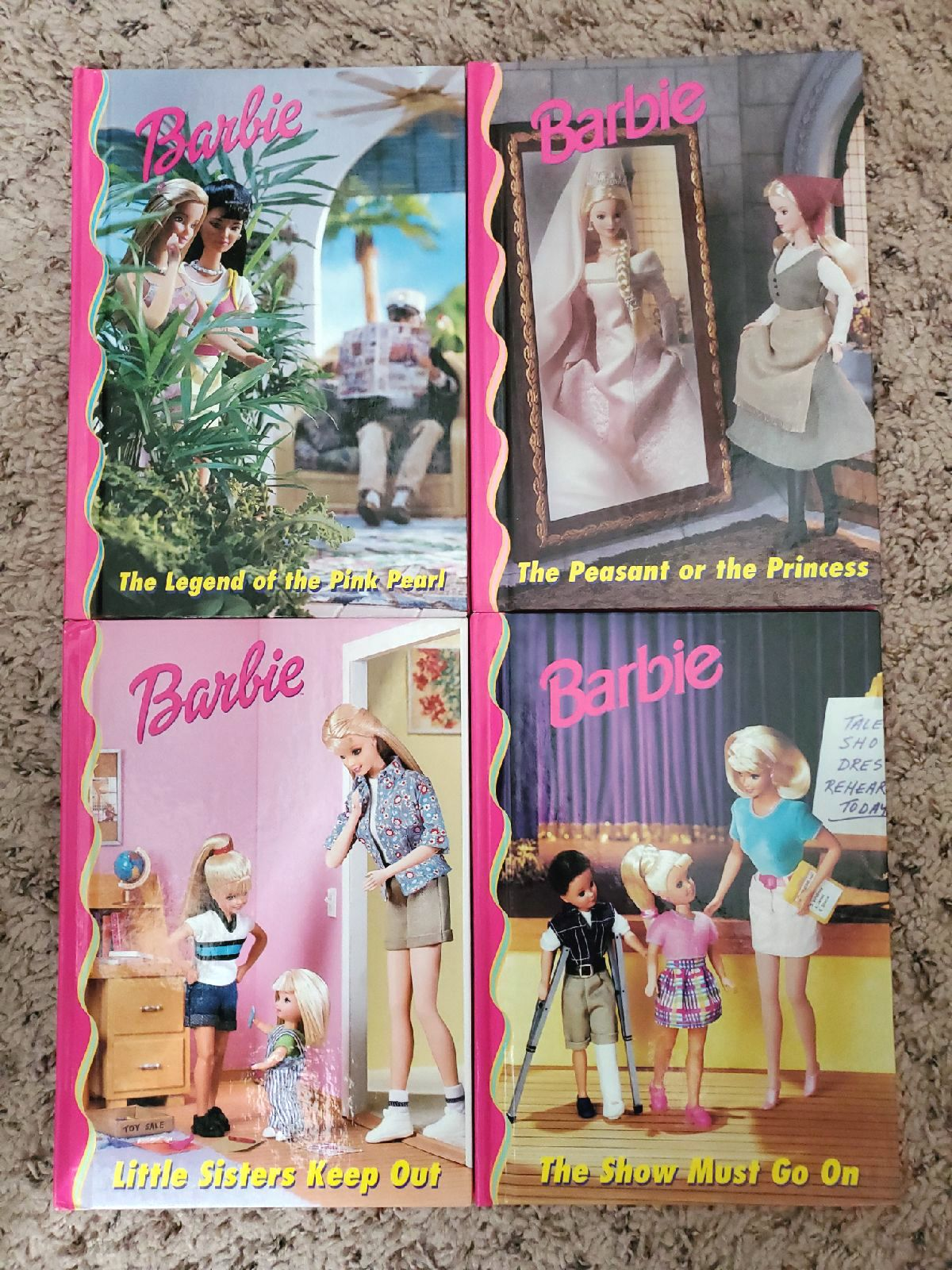 Barbie and Friends Book Club lot of 4 bo