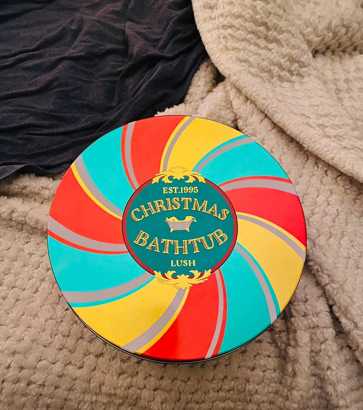Lush Christmas Bath Bomb Tin