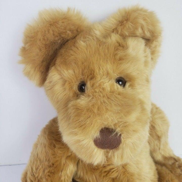 RUSS Berrie Thatcher Plush Bear Brown