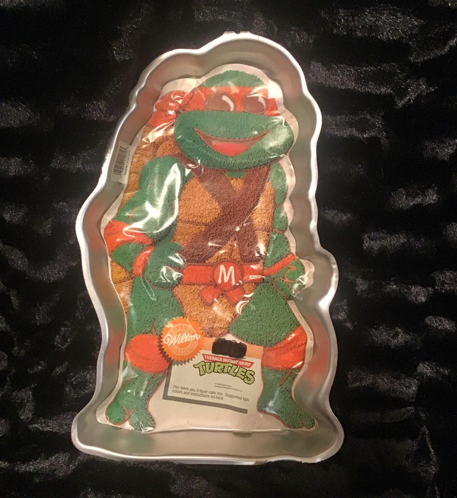 Ninja Turtles wilton cakepan