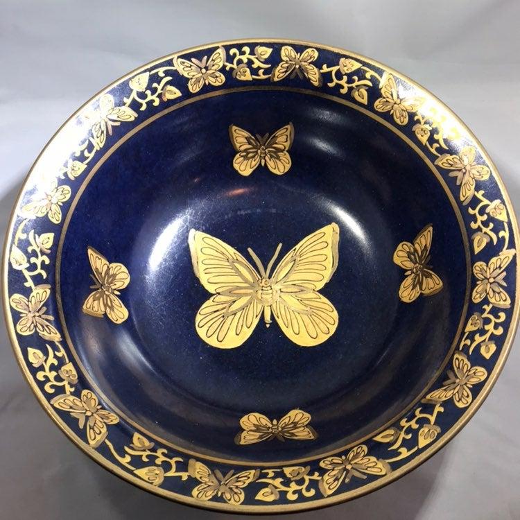 Vintage Andrea By Sadek Butterfly Bowl