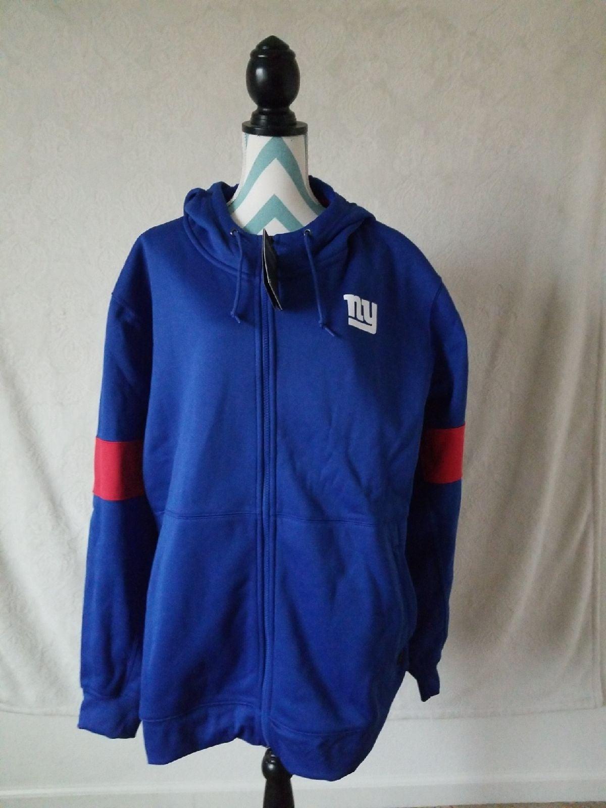 Nike Dri Fit NY Giants zip up hoodie