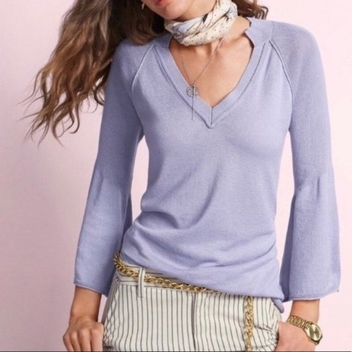 NEW Cabi 5413 Cassidy Sweater Lilac Size Small