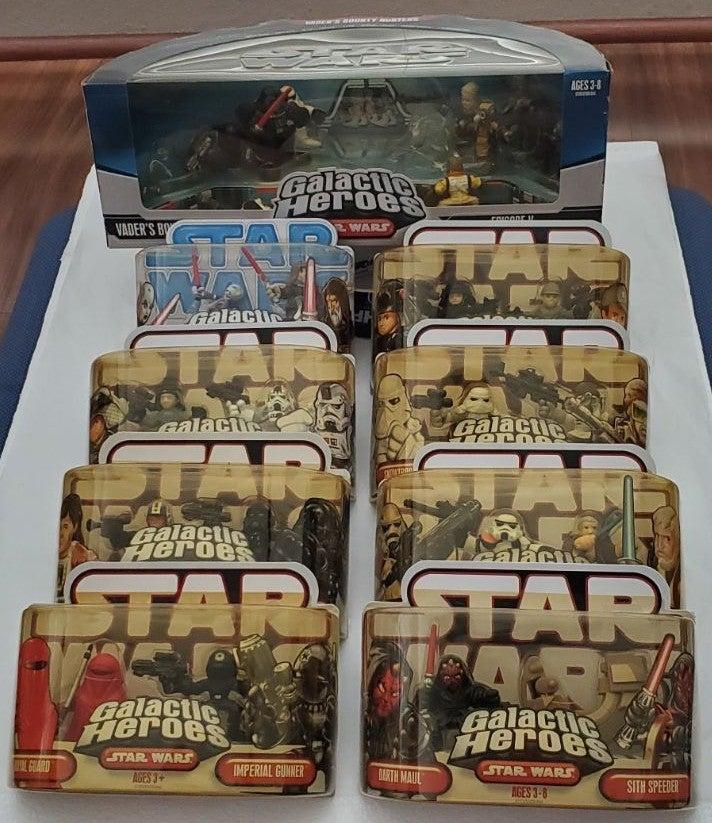 Star Wars Galactic Heroes Lot