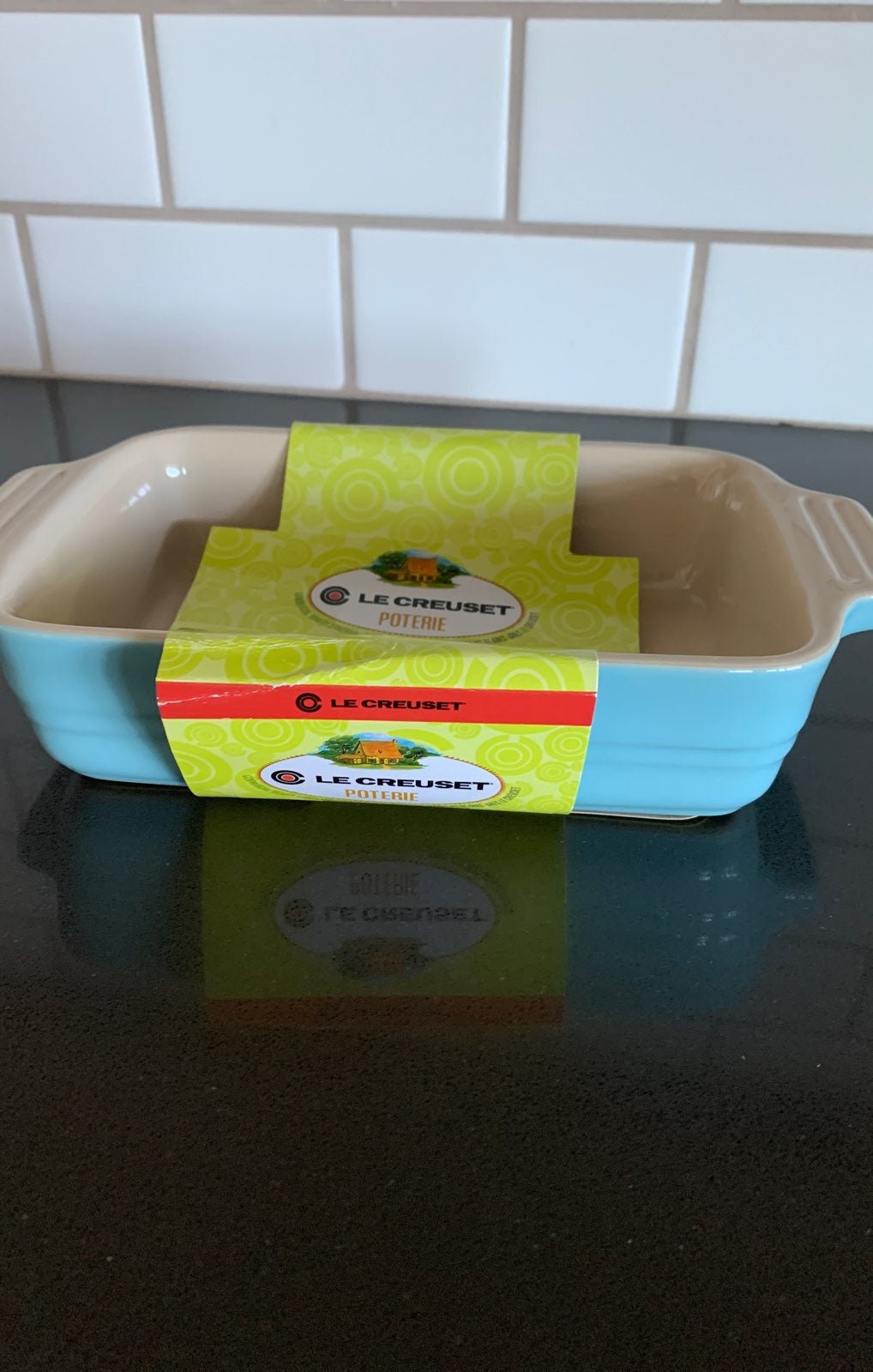 Le Creuset rectangular baking dish
