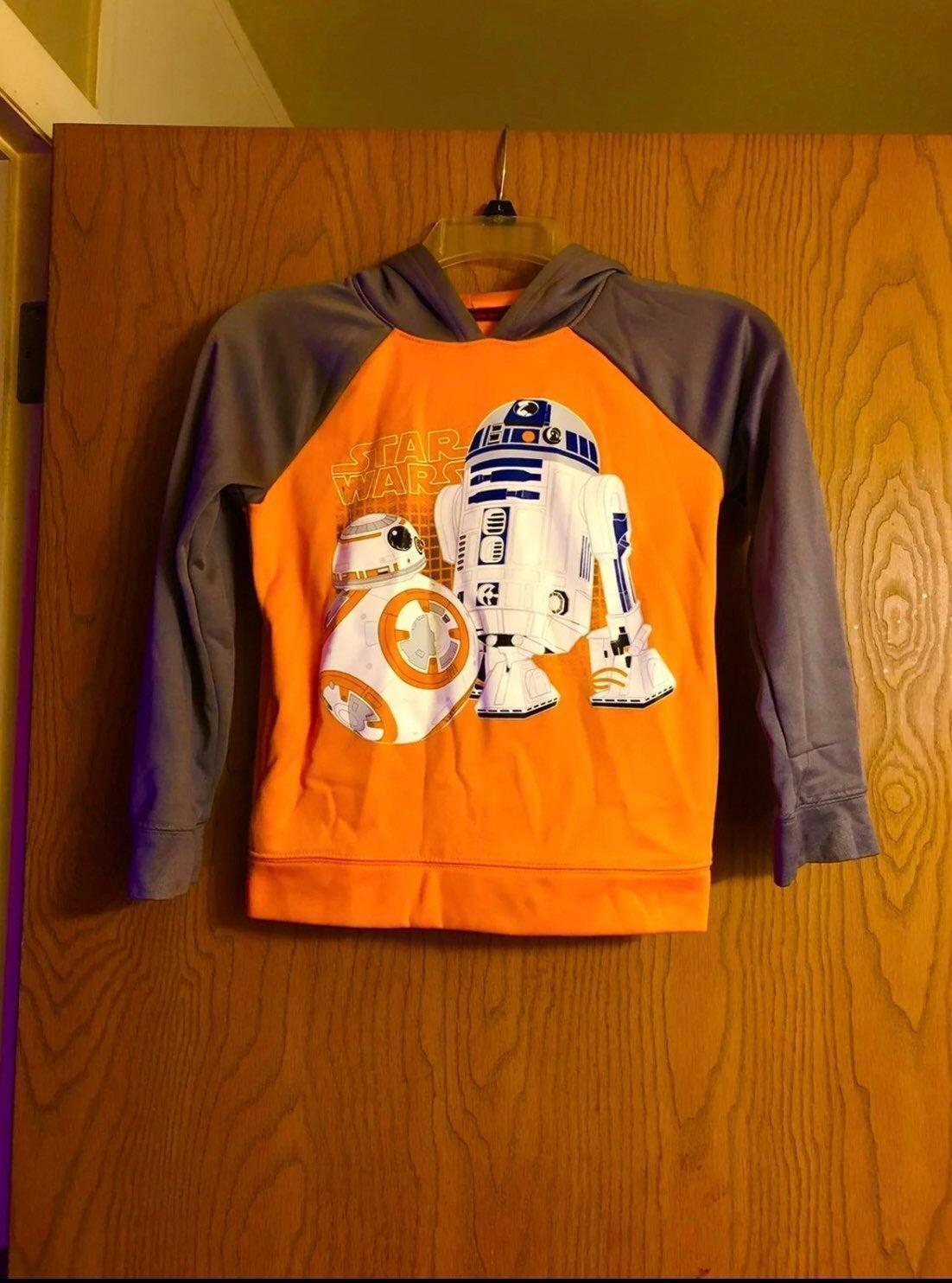 Kids Star Wars Hoodie Size 7X