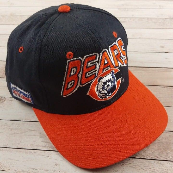 VTG 1990s Chicago Bears Navy Starter Hat