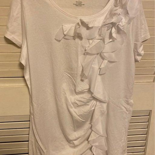 Crystal Kobe Long Ruffled Shirt