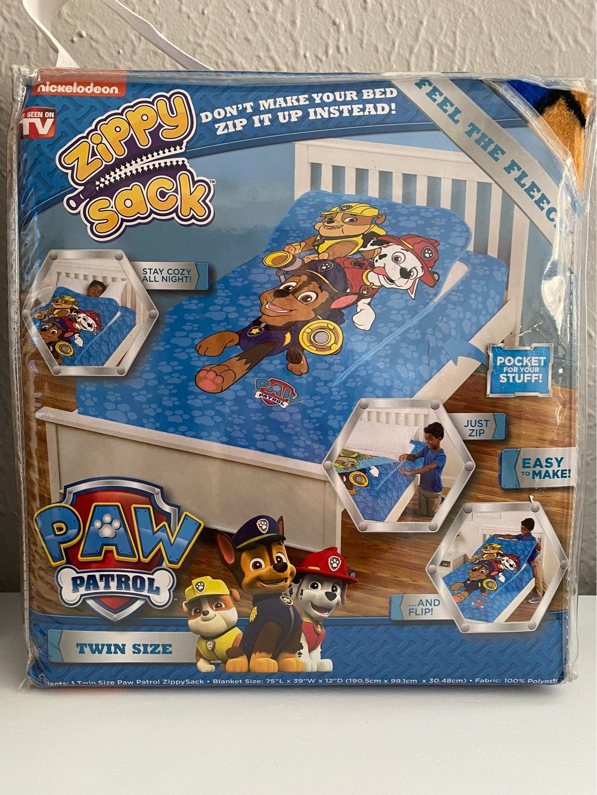 Paw Patrol Twin Size Zippy Sack
