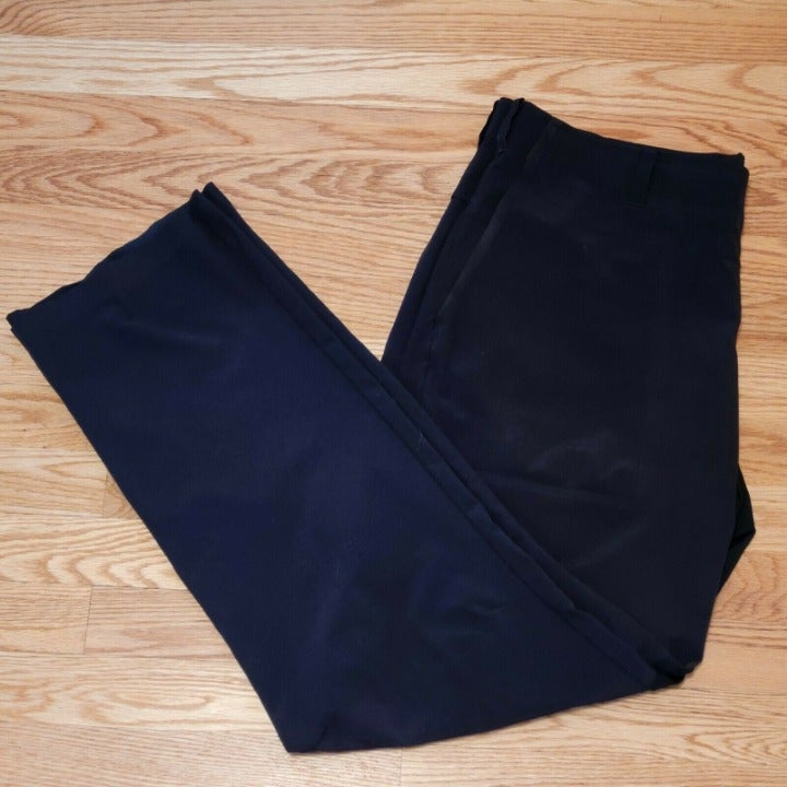 Nike Golf Men's Tiger Woods Collection Stretch Snap Button Black Pants 36x32