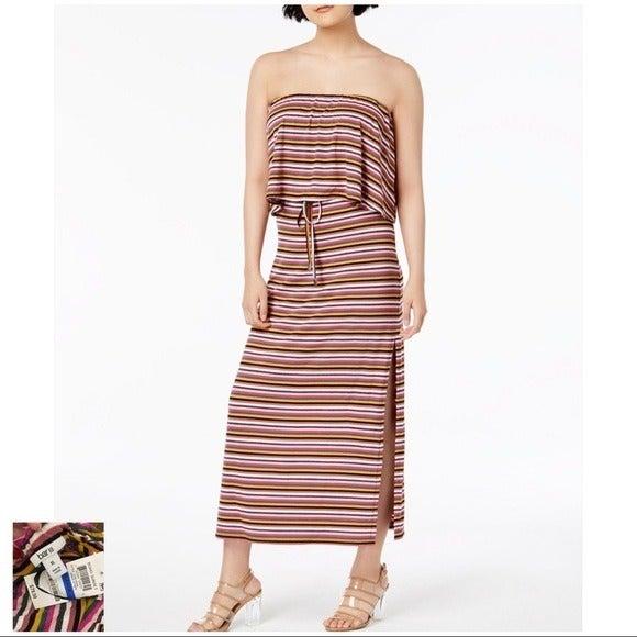 BAR III NWT Multicolor Strapless Dress