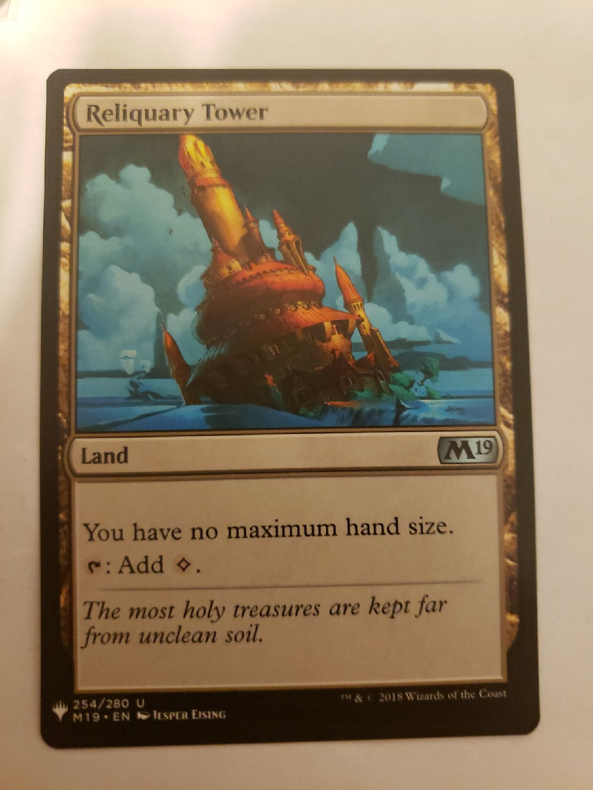 MTG Reliquary tower great card