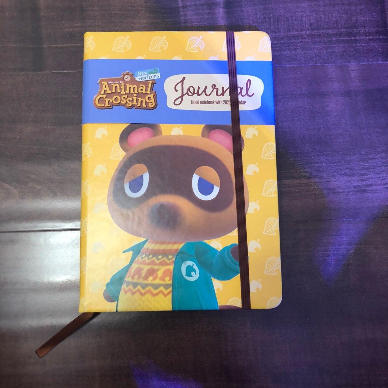 Animal crossing Notebook 2021 Calendar