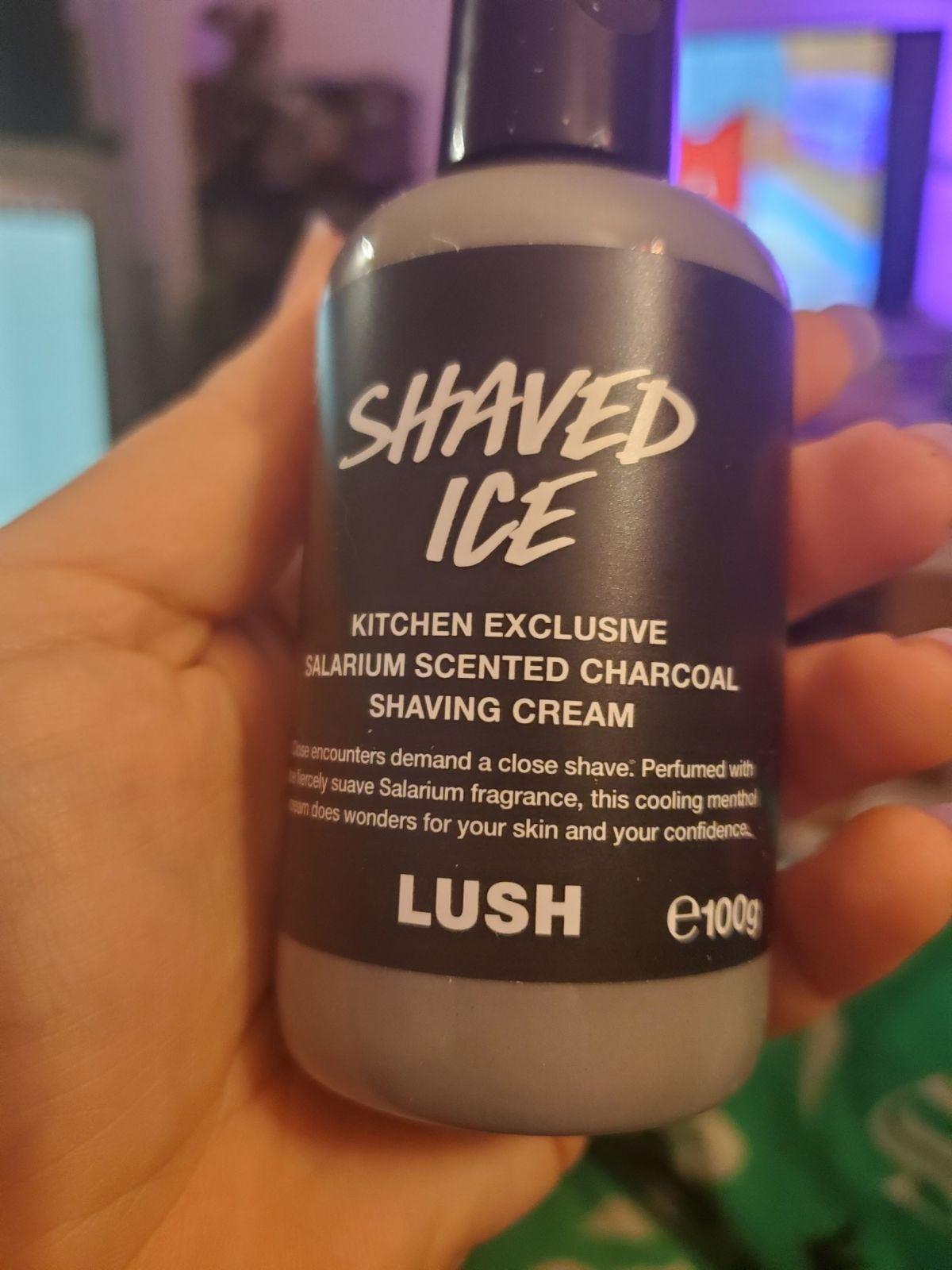 Lush Shaved Ice Shaving Cream