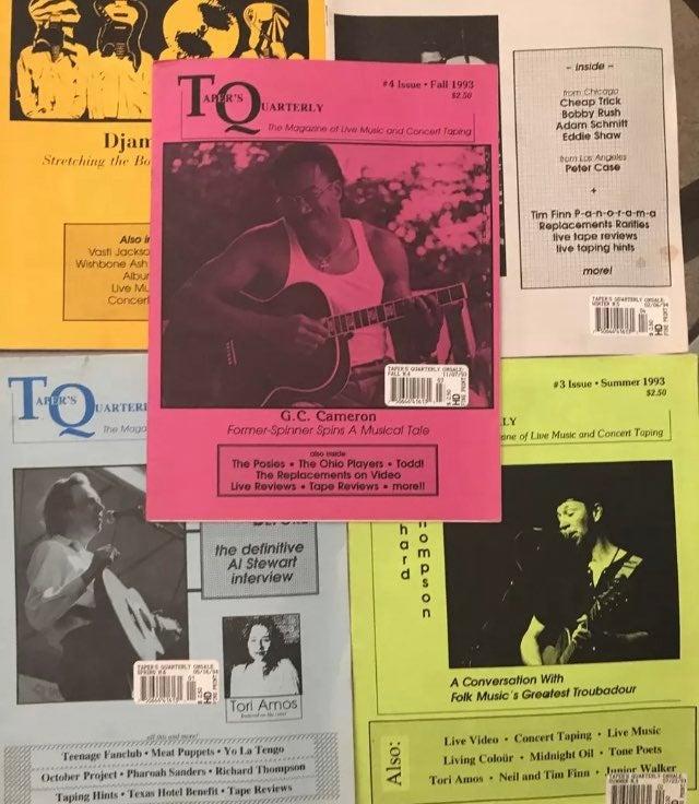 TQ, Tapers Quarterly 5 issues bootleg ta