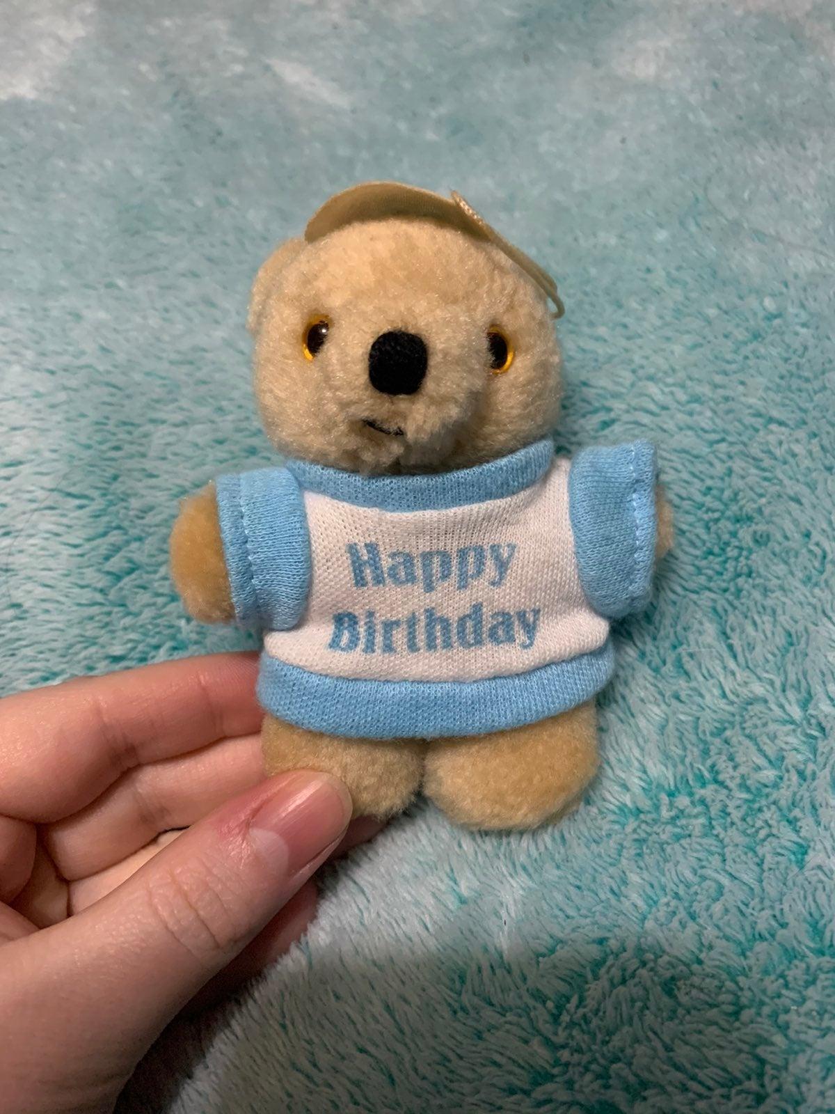 Happy Birthday Bear Plush