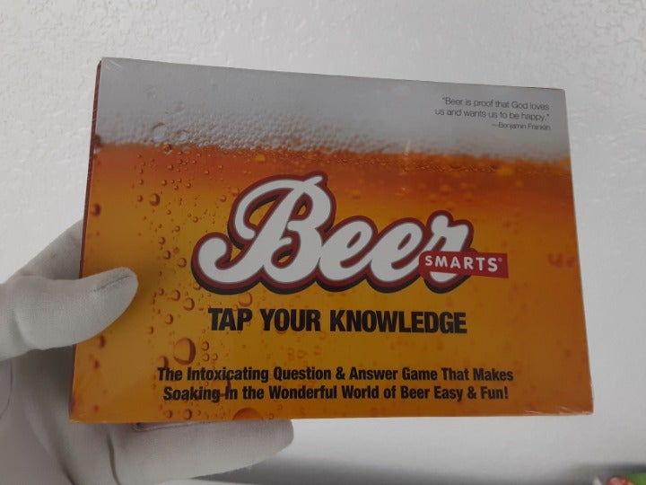 Beer Game Tap Your Knowledge Fun Adult
