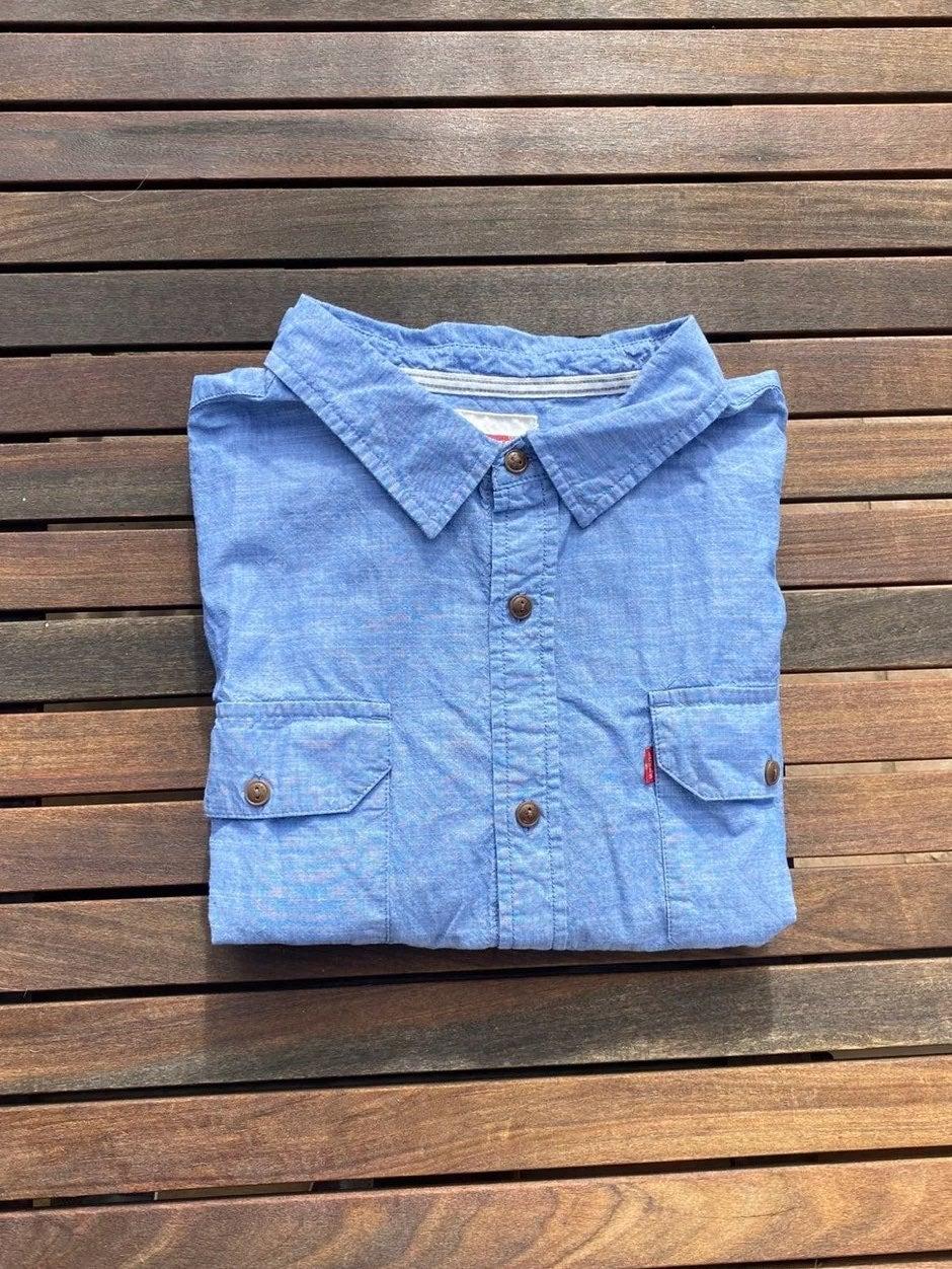 Blue Levis Short Sleeve button up