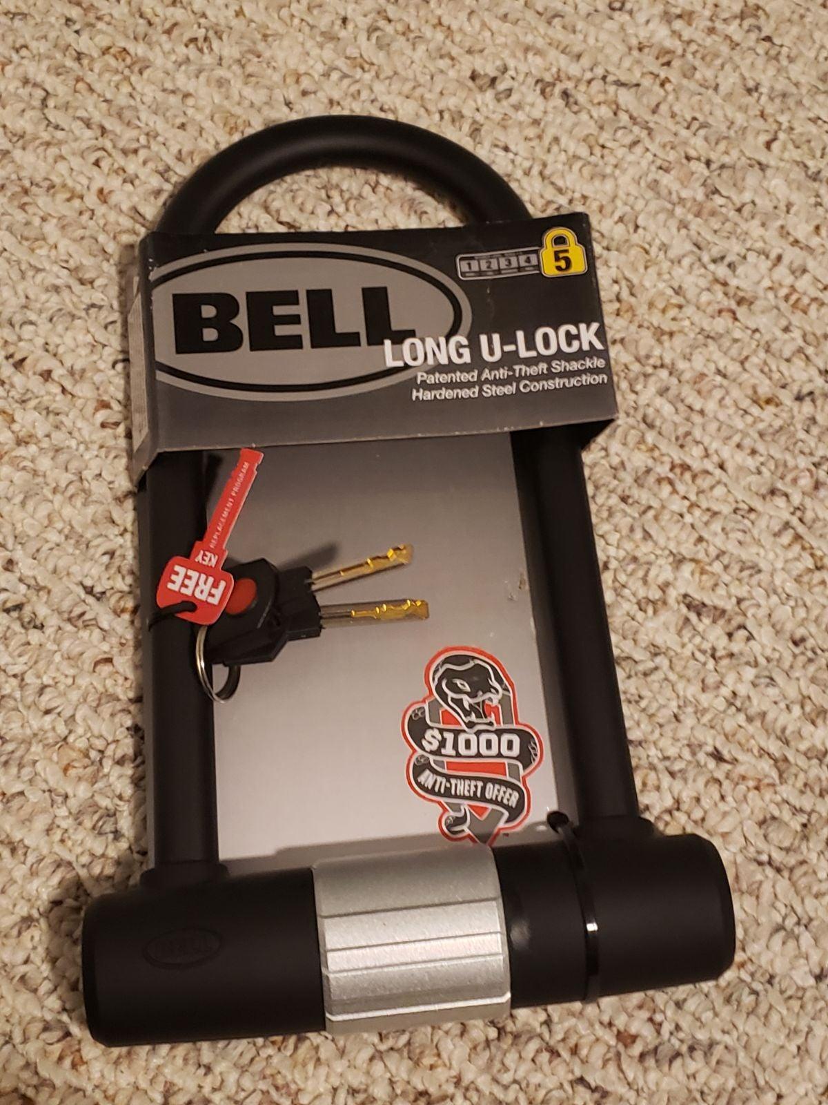 Bell Bike U-Bolt Lock Level 5 Bike Lock