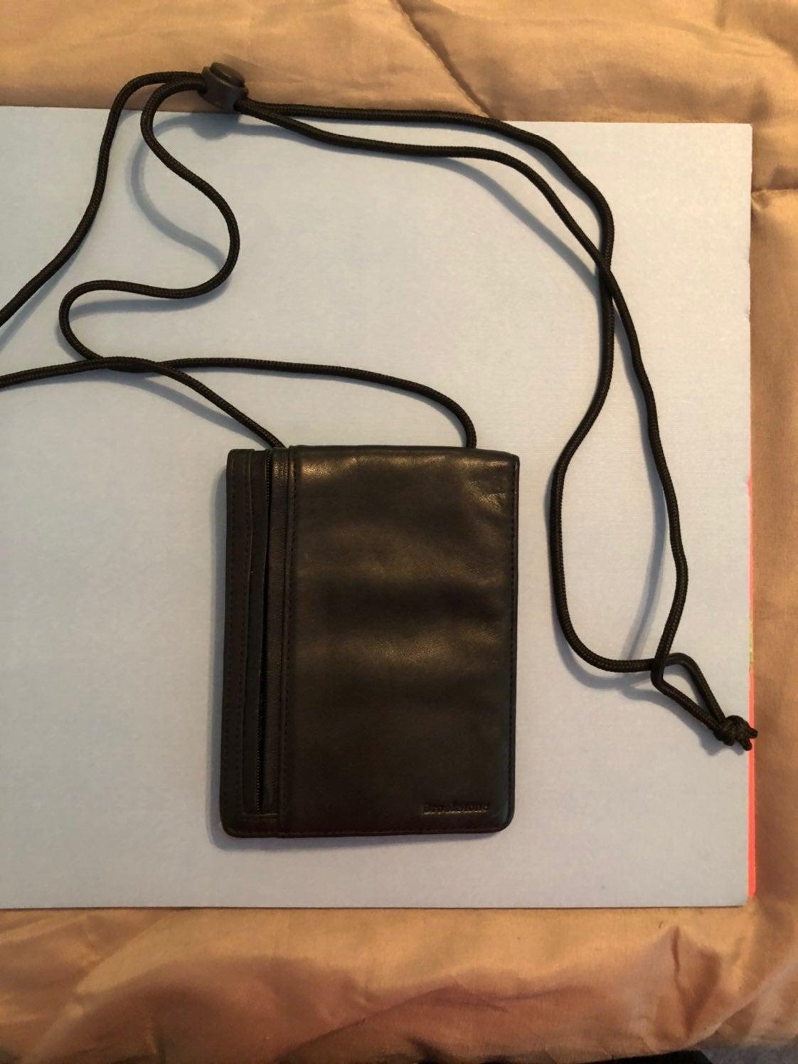 Brookstone crossbody travel wallet