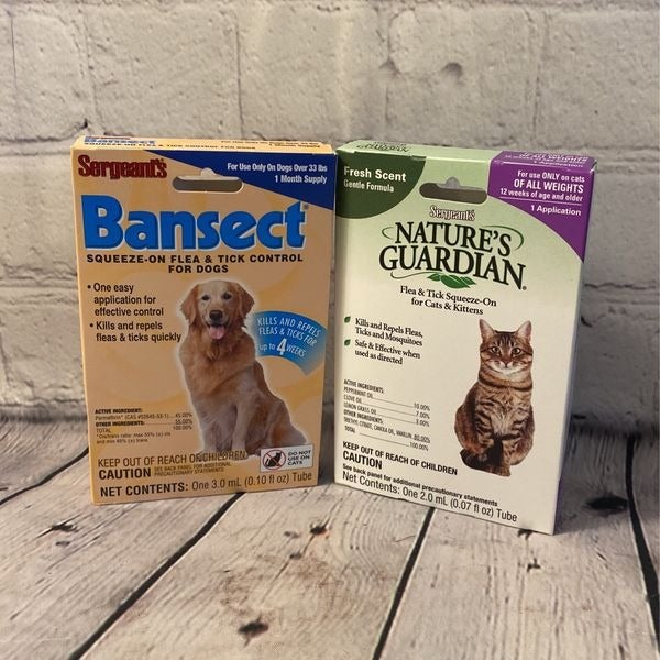 Sergeant's Cat & Dog Flea And Tick