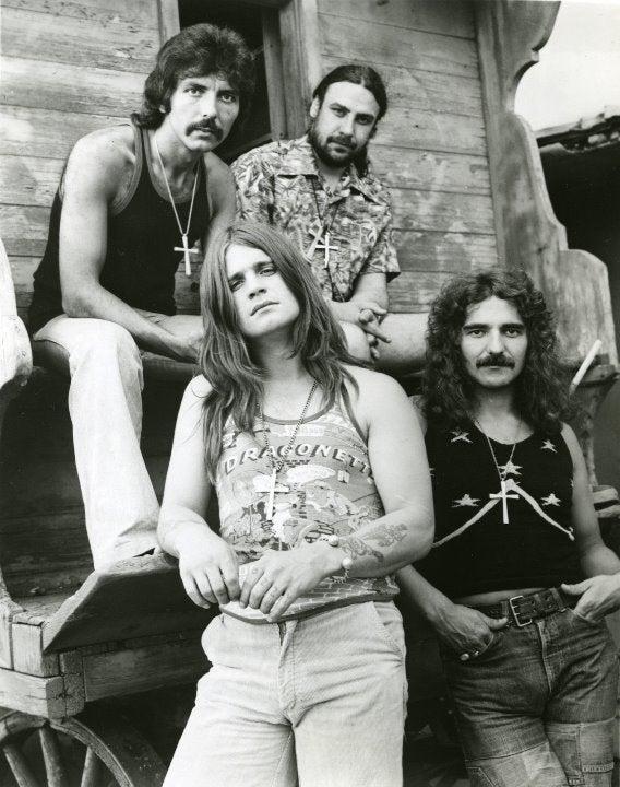 Ozzy Osbourne Black Sabbath 8x10 photo