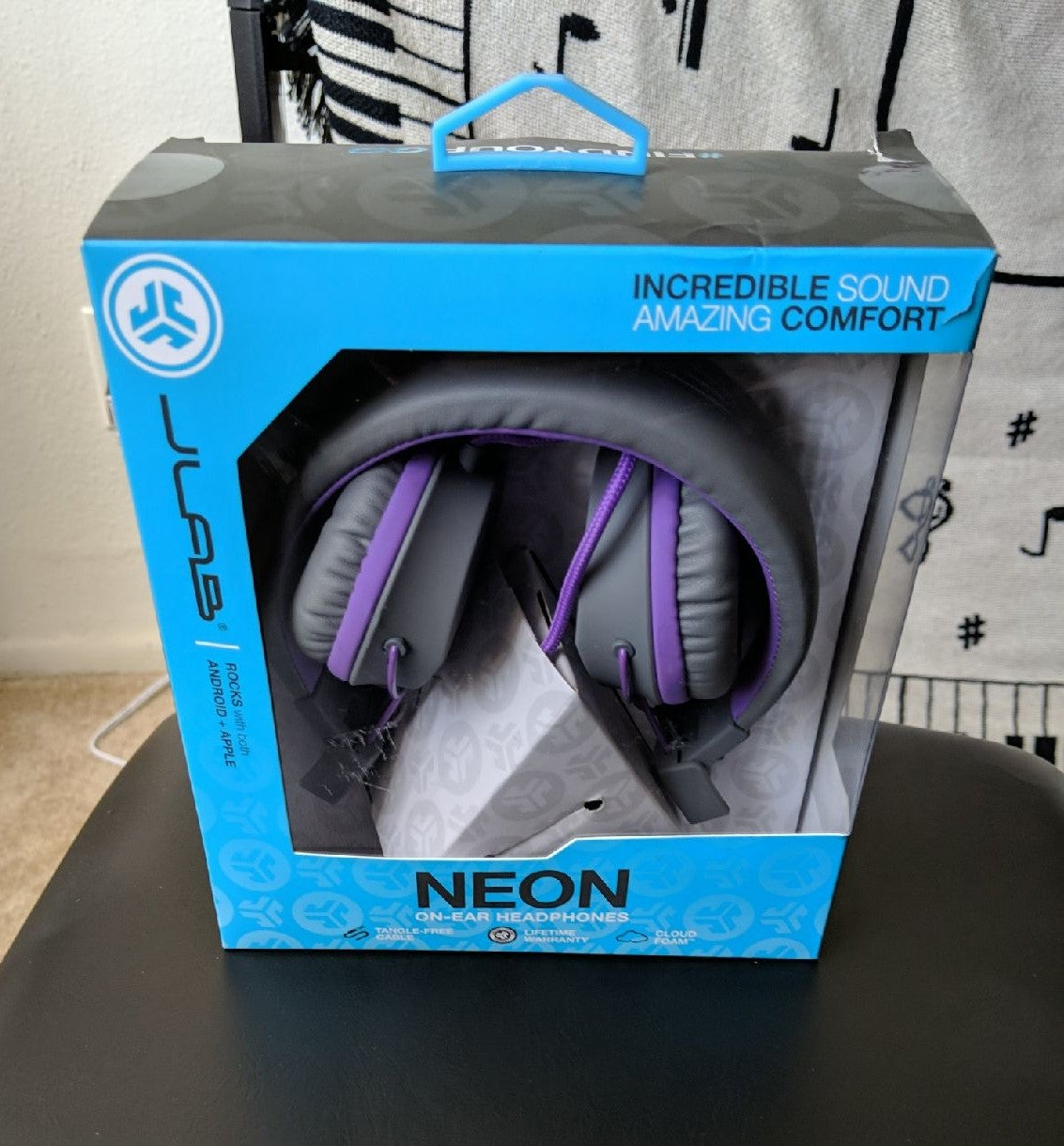 JLab Audio Over-Ear Kids Wired Headphone