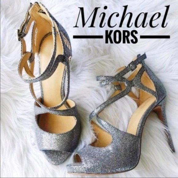 Michael Kors Catia Chain-Mesh Sandal✨Brand New!