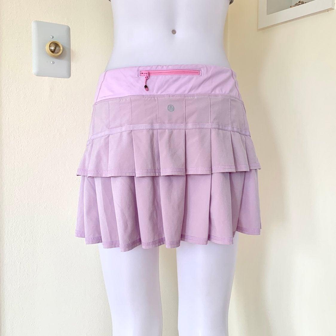 Lululemon lilac Run Pace Setter Skirt