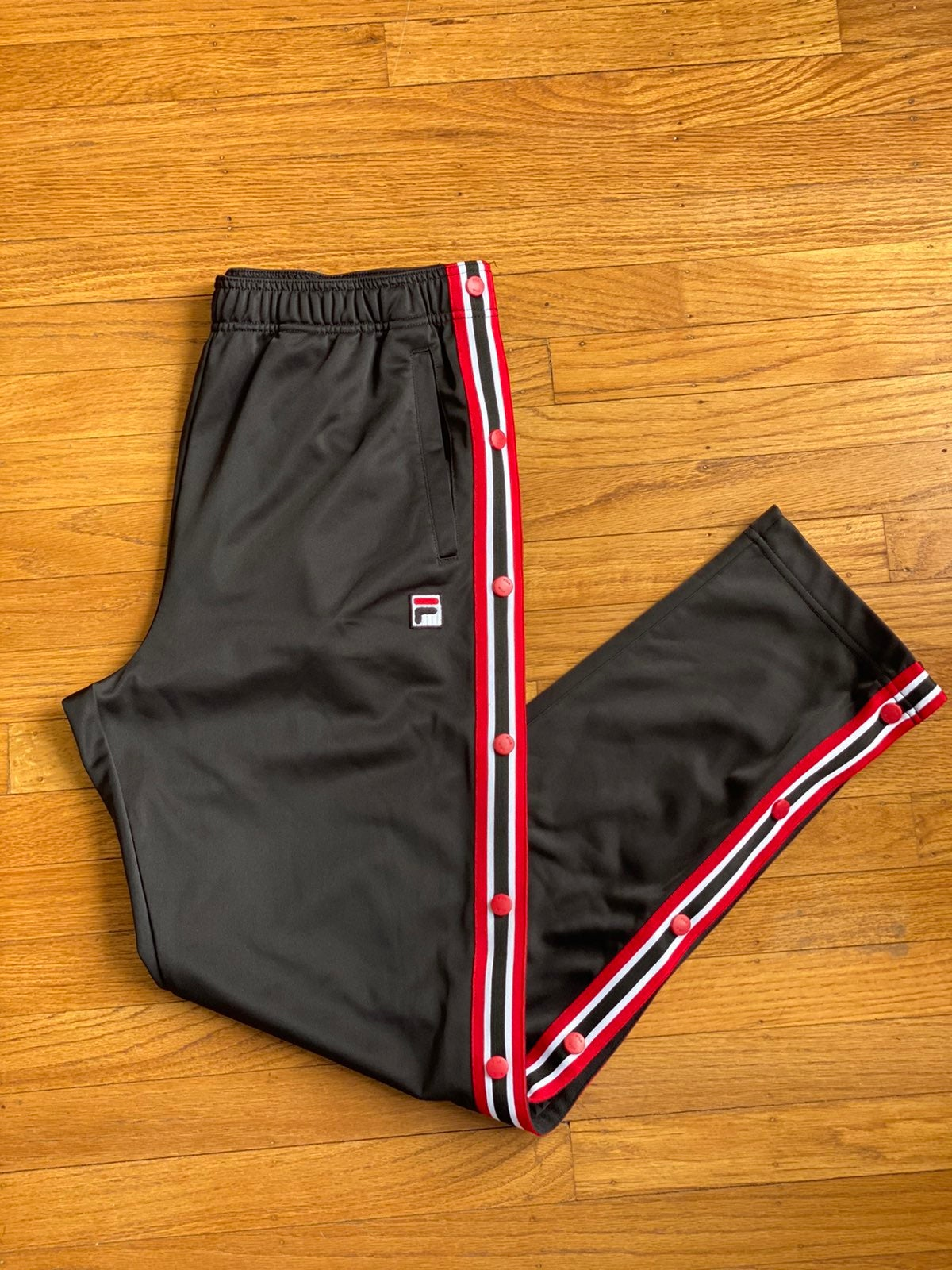 Fila Tearaway Track pants Sz M