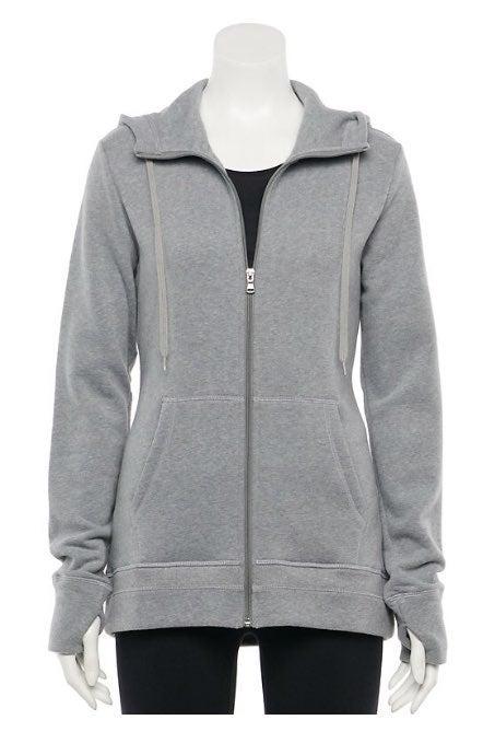 Women's Ultra Soft Fleece Hoodie L NEW