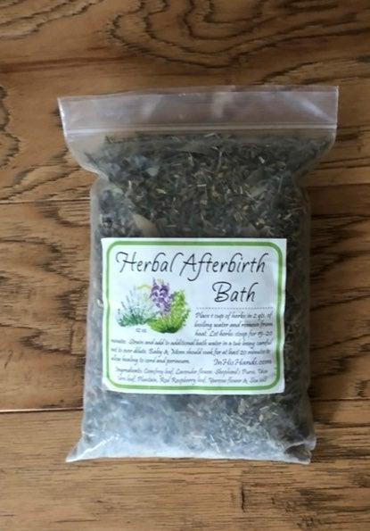 Herbal Afterbirth Bath