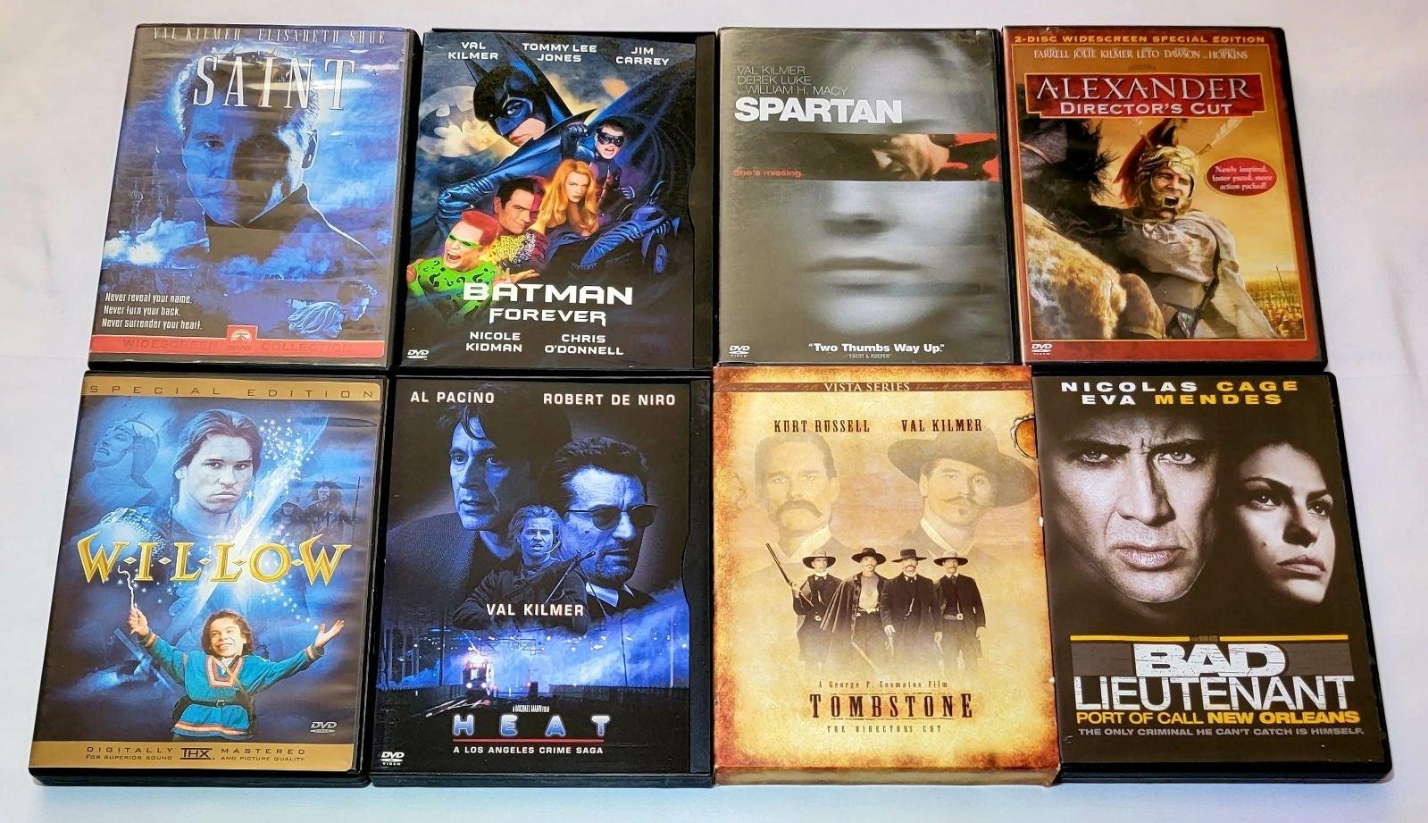 Willow, Batman, Tombstone... Val Kilmer
