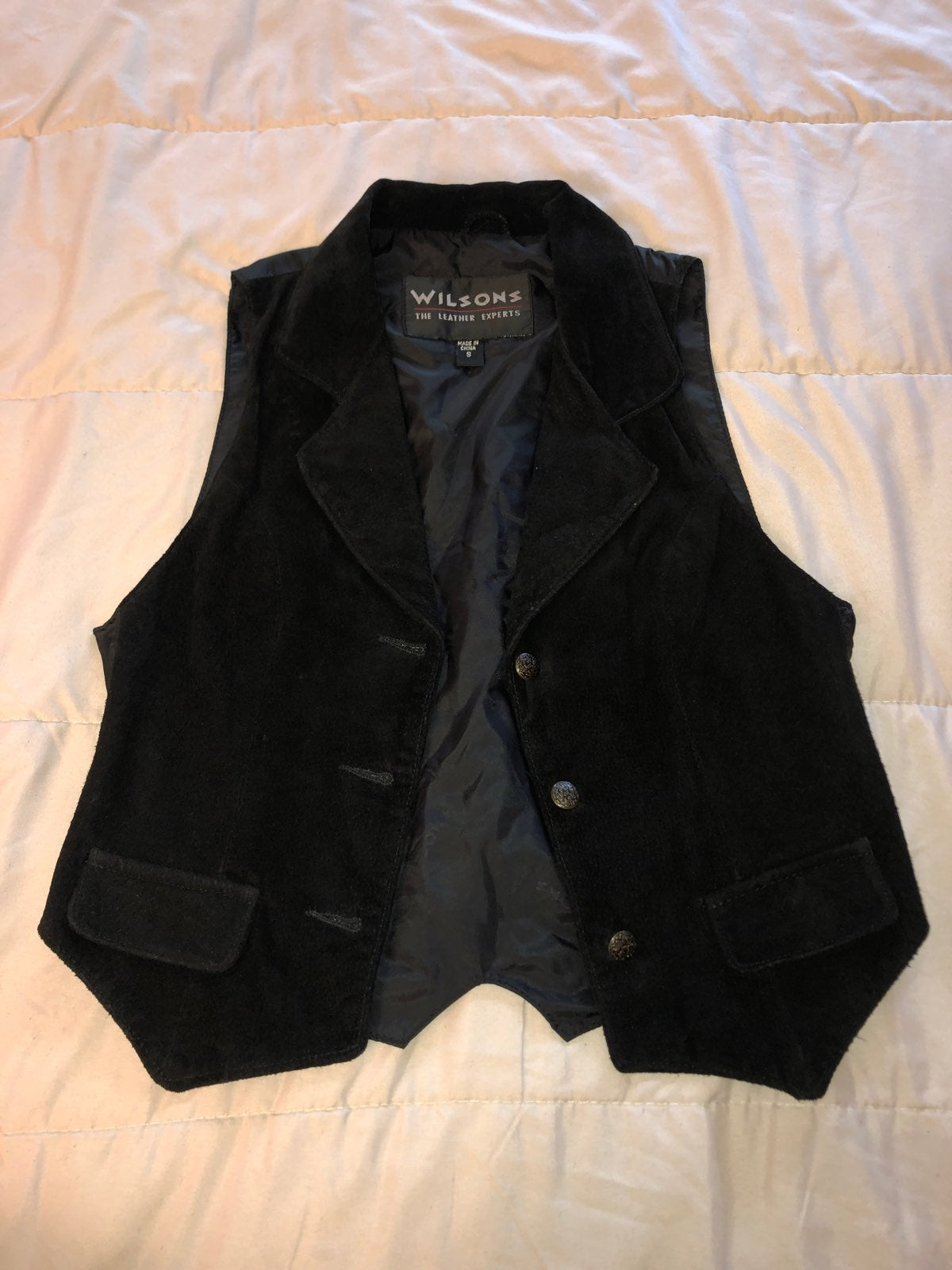 Authentic Wilsons Leather Vest