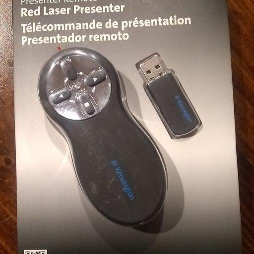 Kensington Red Laser Presenter, Presente