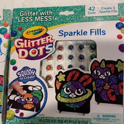 Crayola glitter dots set of 4