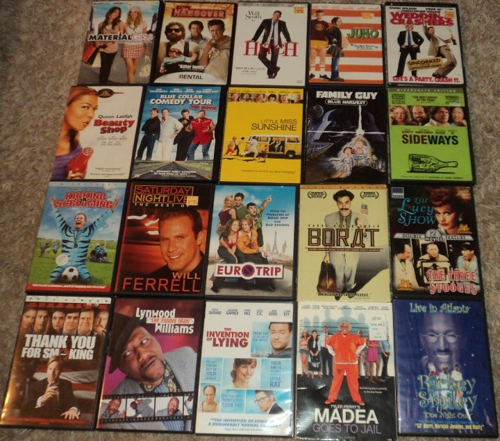 LOT OF 20 - COMEDY DVDS