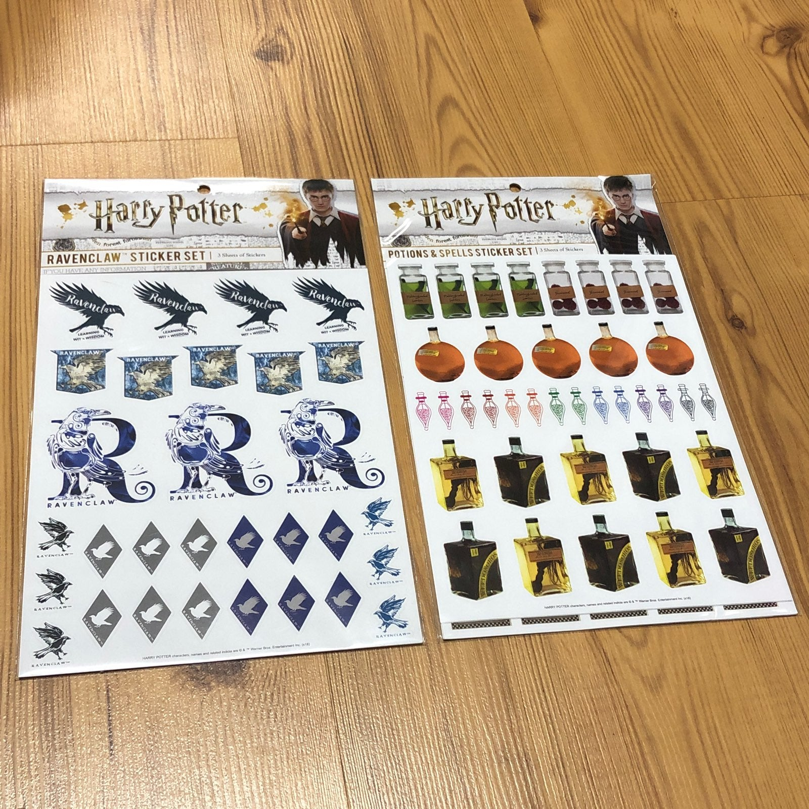Harry Potter Ravenclaw, Potions stickers