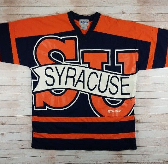 VTG 1990s Syracuse Big Logo Tee Shirt
