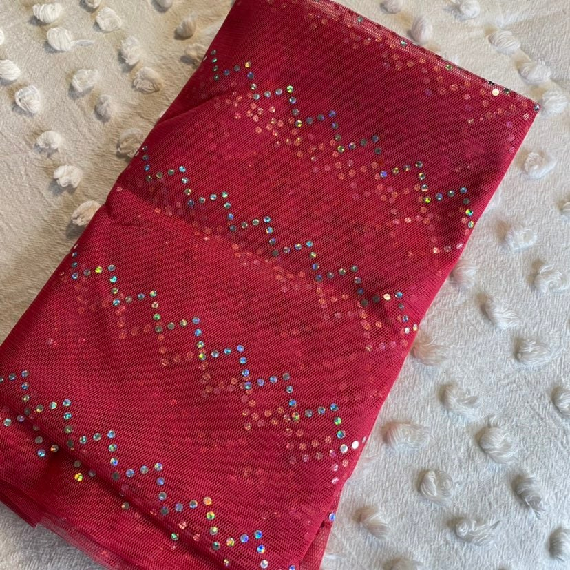 Pink Sparkly Curtains Set of 2 Good