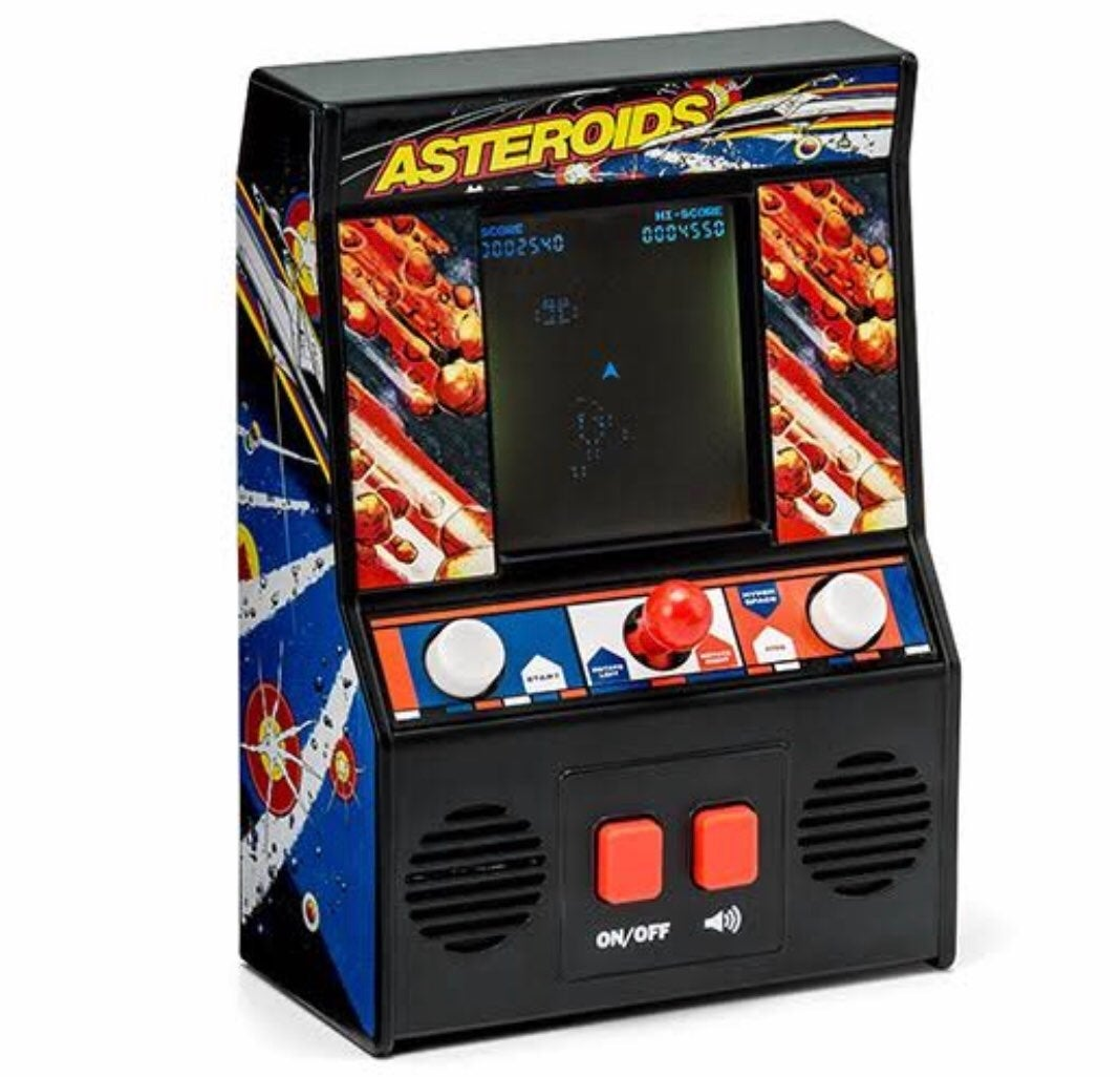Mini Arcade Game Asteroid Handheld Atari