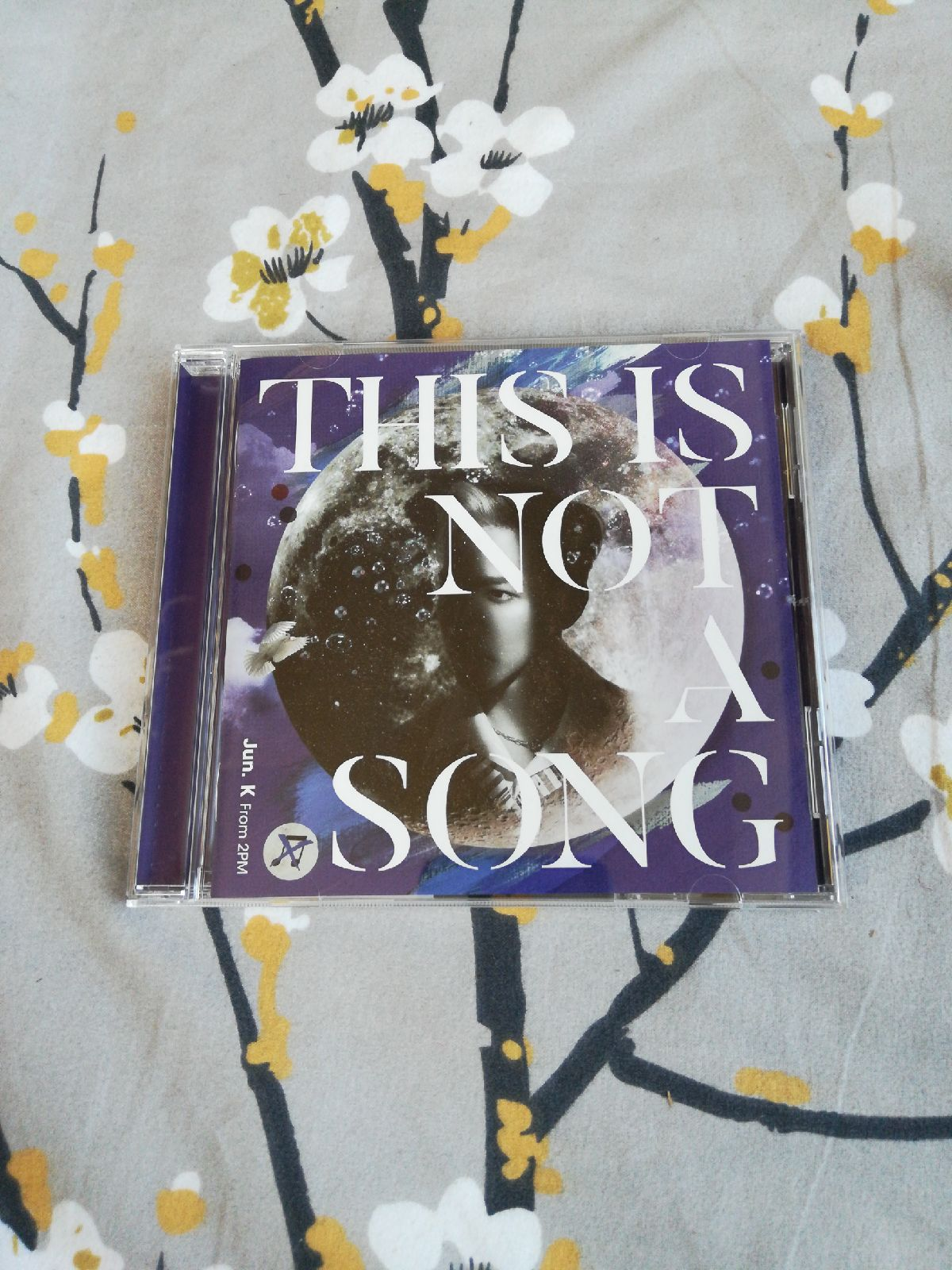 2PM Jun. K this is not a song Japan cd